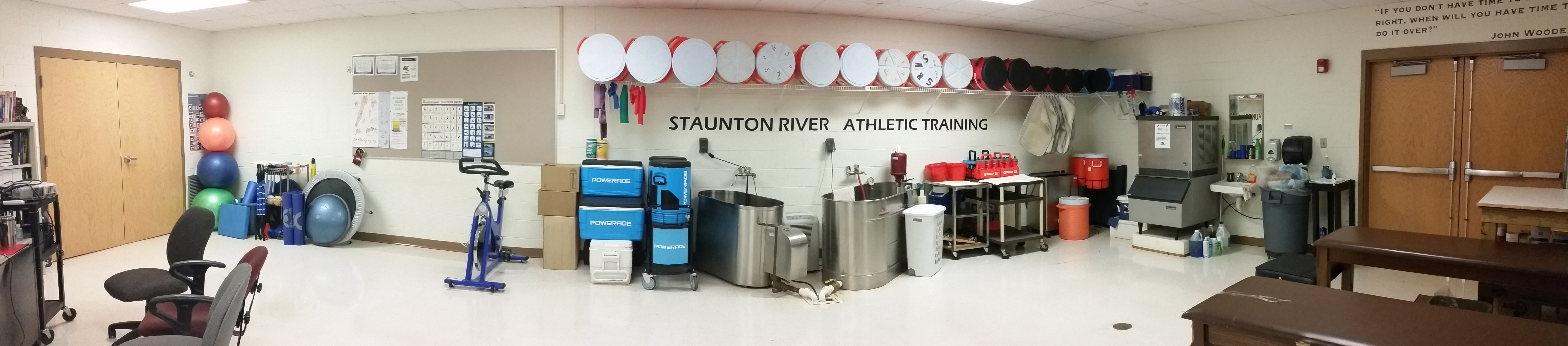 SRHS Athletic Training Room